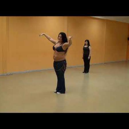 """Урок 10. Танец живота, восточные танцы, арабский танец. Школа танцев """"Экспромт"""" СПб"""