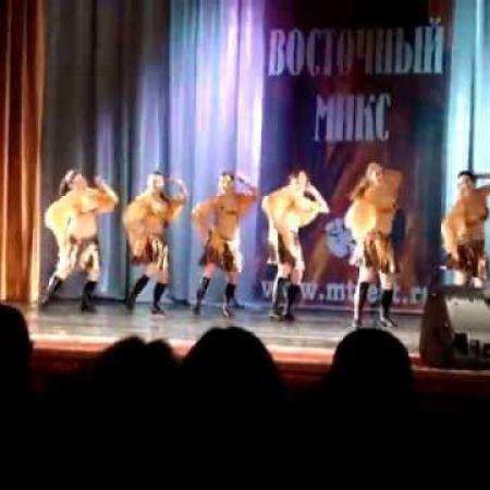 """Конкурс """"Восточный микс"""" 10.03.2013  Восточный танец """"El Tanoura"""""""