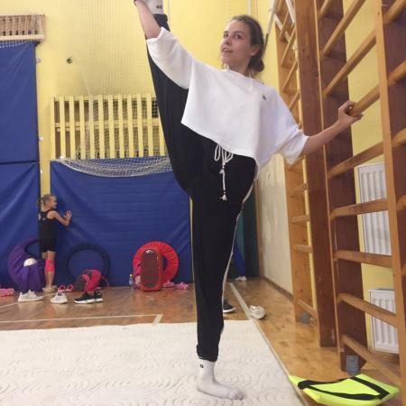 Елизавета Сумарокова, стретчинг, растяжка
