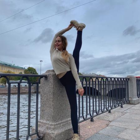 Екатерина Вострикова, растяжка, стретчинг