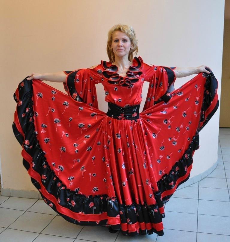 Цыганские платья на прокат
